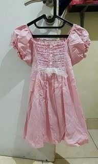 Atasan hamil pink