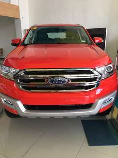 Ford Everest Trend A/T Zero Downpayment