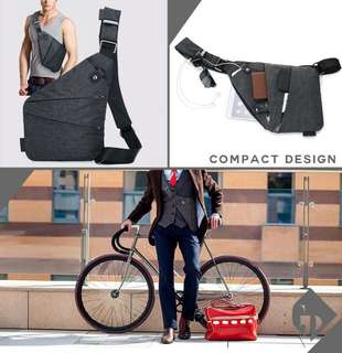 Compact Travel Sling Bag