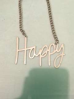Kalung happy gold