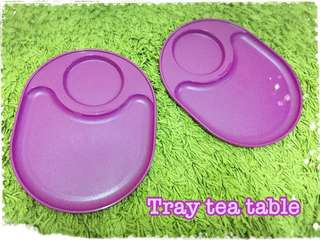 Tray Tea Table - Purple (For kids and family)