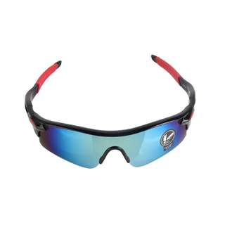 Raintree Cycling Sunglasses (Blue/red/white and Black/red)