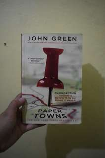 Papertowns (Tagalized)