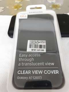 Samsung A7 (2017) Clear View Cover