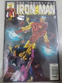 Marvel Comics The Invicible Ironman #33