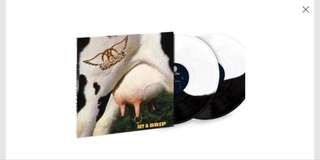 Aerosmith - Get A Grip Limited Edition 2 Lp Black/ White/ Cow coloured vinyl