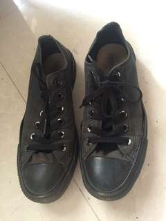 CONVERSE ALL STAR / all black / canvas/ sneakers