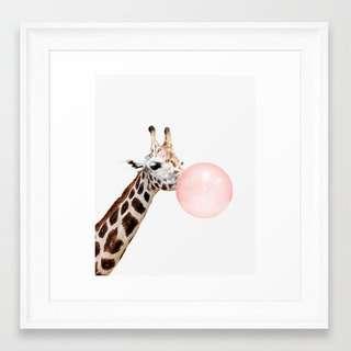 Giraffe Frame Art