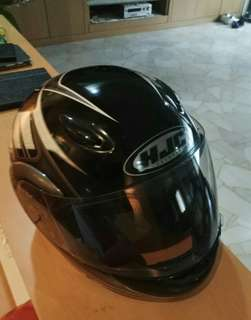 USED HJC Flipup helmet for sale. XS fits S