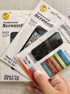 🚚 iphone 5/5s 三款保護貼