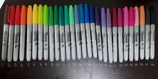 Sharpies ($1.40 each)