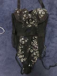 Victoria's Secret Lcae Bodysuit