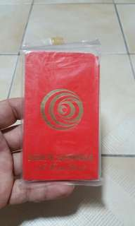 Antique red packets