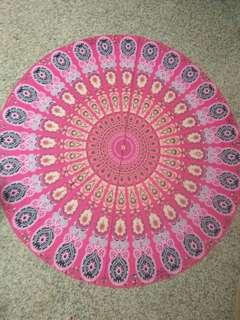 Mandala Tapestry Beach Mat (instock)