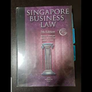AB1301 Singapore Business Law (7th Edition)