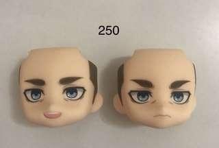 Nendoroid Erwin face plates