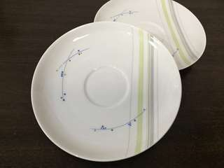 KPM Krister Germany teacup plate Set of 4