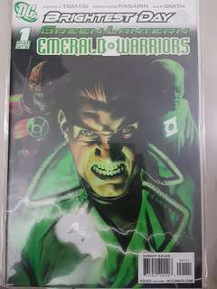 DC Comics Brightest Days Green Lantern Emeralds Warriors