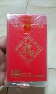 Rare antique kwong lee bank red packets