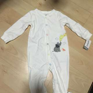 Carter's Romper in White