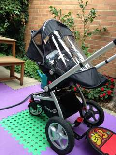 Safety first travel system stroller