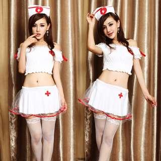 Sexy Nurse Woman Costume Lingerie Set