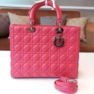 九成半新 Lady Dior 七格