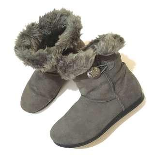 🚚 abcmart購入 內增高毛絨雪靴