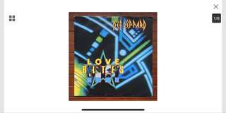 "Def Leppard - Loves Bites 12"" single"