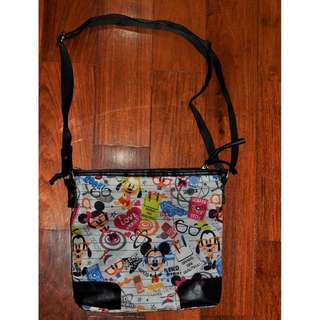Disney Parks Nerds Messenger Sling Bag