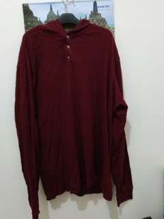 Gap thermall hoddie marron
