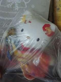 Hello Kitty陶瓷和服