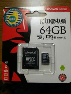 Kingston 64G Micro SD Card