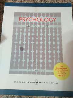 Psychology and your life textbook