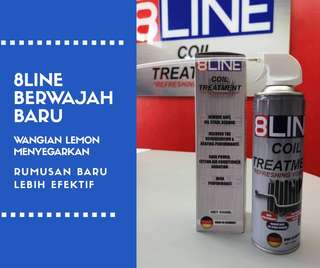 8LINE AIRCOND CLEANER