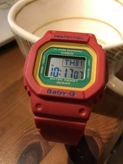 Casio Baby-G (LEGO RED)
