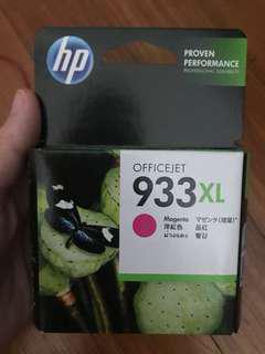 HP authentic 933XL magenta ink