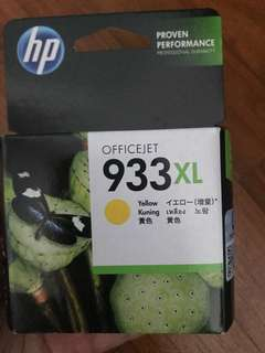 HP authentic 933XL yellow ink