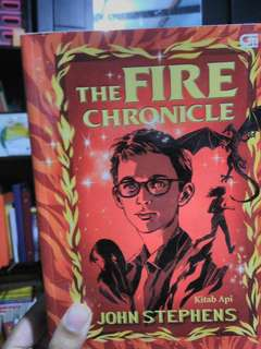NOVEL MURAH BUKU MURAH (The Fire Chronicle)