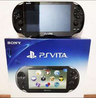 Ps Vita Slim Khaki Black Latest fw complete