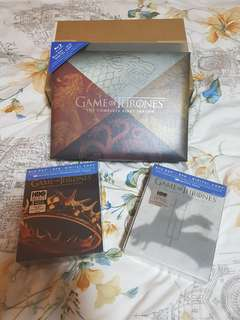 Blu Ray Game of Thrones Complete Season 1, 2 & 3 BNIB 100% Original