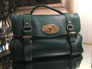 Mulberry Alexa Medium Emerald Green