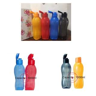BN Eco Water Bottle 1000ml Flip Cap