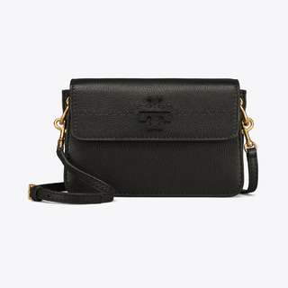 TORY BURCH MCGRAW CROSS-BODY (BLACK)