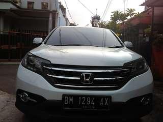 Honda CRV.2.4.AT.thn.2013.pol.bm pajak telat.bu.233jt.nego