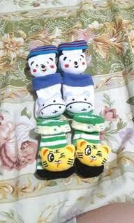 GET ALL THESE 3 BABY BOY RINGING SOCKS!