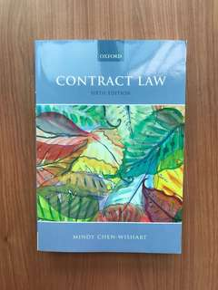 Mindy Chen-Wishart Contract Law 6th Ed