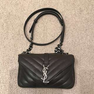Saint Laurent Mini 'Monogram Collège' Crossbody Bag YSL