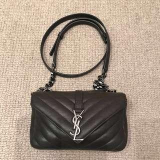 Saint Laurent Mini 'Monogram Collège' Crossbody Bag YSL