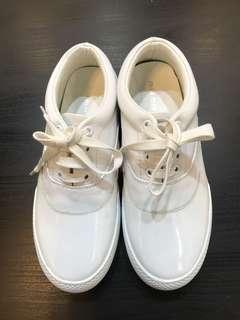 miumin休閒皮鞋 全新36